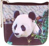 Kleine portemonnee panda-