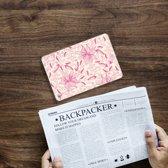iPad Mini 4 Uniek Tablethoesje Pink Flowers