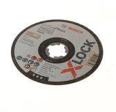 Bosch Doorslijpschijf Xlock Inox stan 125x1x22