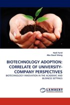 Biotechnology Adoption