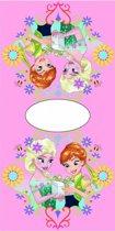 Disney Frozen Elsa Anna Pink - Poncho - 50 x 100 cm - Roze