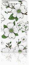 Motorola Moto G6 Boekhoesje Design Dogwood Flowers