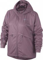 Nike Essential Jacket Hd SSnl Plus Sportjas Dames - Roze