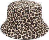 Bucket hat - panterprint - Zonnehoedje - Vissers Hoed - Vrouwen - Hicking