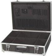 Gereedschapskoffer met aluminium frame 455 x 330 x 152 mm zwart