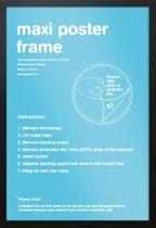 Wissellijst-Fotolijst-Posterlijst-zwarte rand-formaat A3-29.7x42cm. Aanbieding