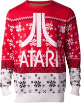 Difuzed Atari Kersttrui Maat XL - Rood
