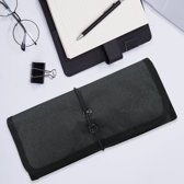 Opvouwbare kabel organiser tas / reis etui voor accessoires - Oprolbare travel bag