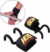 Gewichtheffen Pols Strap Haak Bar Double Rod Support Barbell Strength Training Gym