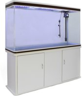 Aquarium Fish Tank & Cabinet - White