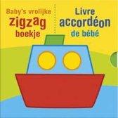 Baby's vrolijke zigzag boekje
