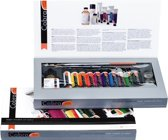 Cobra Artist olieverf 10 tubes 40ml met accessoires - oplosmiddelvrij - watervermengbaar