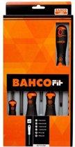 BAHCO Kruis en platkop schroevendraaiers - 6-delig