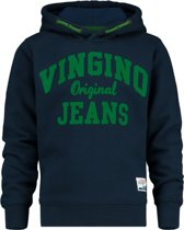 Vingino Jongens Sweater - Dark Blue - Maat 176