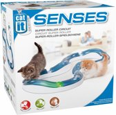 Cat it Senses kattenspeelgoed Super roller circuit - Paars