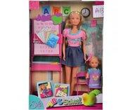 Steffi Love  Lerares  & Evi met School Accessoires - Pop