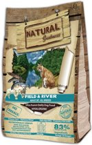 Natural greatness field & river kattenvoer 600 gr