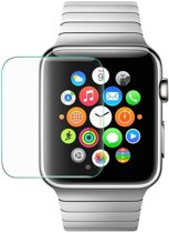Apple watch 42mm tempered glass - By Qubix - Transparant - Glas