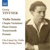 Tintner: Violin Sonata/Variations