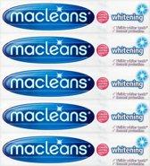 Macleans whitening tandpasta 5-pack