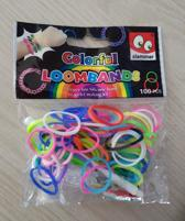 Slammer, Colorful Loombands 100pc