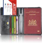 Paspoorthoesje / Paspoorthouder - V2 - Zwart