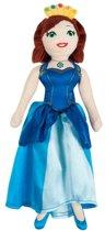 Knuffelpop Prinsessia 30 cm: Violet -