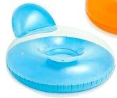 Intex Luchtbed/stoel met kussen 137x122cm - blauw