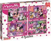 Disney Minnie's happy helpers - Set van 4 puzzels met 12, 20, 30 en 36 stukjes