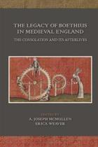 The Legacy of Boethius in Medieval England
