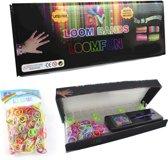 Loom Bands Starterskit - Elastiekjes Starterset - Extra Rainbow Bands (Value Pack)