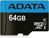 ADATA Premier flashgeheugen 64 GB MicroSDXC Klasse 10 UHS-I