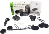Bluetooth motor intercom FDC-02 interphone headset 1000meter met ingebouwde FM radio  1 module