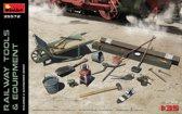 Miniart - Railway Tools & Equipment (Min35572)