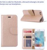 PaxxMobile Basixx Hoesje voor Samsung Galaxy S7 G930 Boek Hoesje Book Case Goud