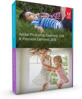 Adobe Photoshop Elements & Premiere Elements 2018 - Nederlands/ Engels/ Frans - Windows