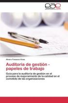 Auditoria de Gestion - Papeles de Trabajo