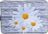 Laptop Sleeve met bloemen tot 15.4 inch – Grijs