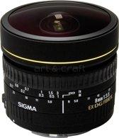 Sigma 8 mm - f/3.5 EX DG Circulair fisheye - fisheye lens - Geschikt voor Nikon
