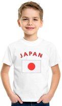 Kinder t-shirt vlag Japan Xl (158-164)