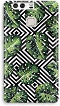 Huawei P9 Volledig Geprint Hoesje (Hard) - Geometrische jungle