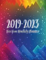 2019-2023 Five Year Monthly Planner