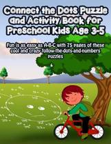 Connect the Dots Puzzle and Activity Book for Preschool Kids Age 3-5
