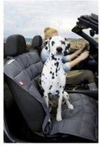 Doctor Bark hondendeken voor de bijrijdersstoel, grijs