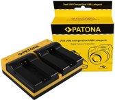 PATONA Dual Charger for Konica Minolta Samsung NP-700 Dimage DGX50K DG-X50-K DGX50R