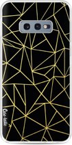 Casetastic Softcover Samsung Galaxy S10e - Abstraction Outline Gold