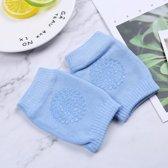 Baby kniebeschermers | anti slip | one size | licht blauw