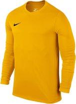 Nike VI LS  Sportshirt - Maat XS  - Unisex - geel/zwart