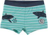 Losan Jongens Zwembroek Lichtblauw met haaien - Maat 74/80