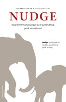 Boek cover Nudge van Richard Thaler (Paperback)